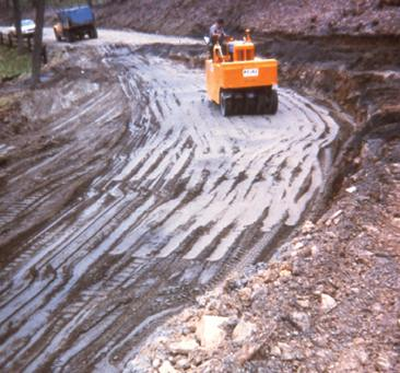 Chapter 6 fly ash in structural fills embankments fly for Design of pond embankment