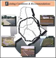 Orthophoto imagery of the Tucson area as described in the text.