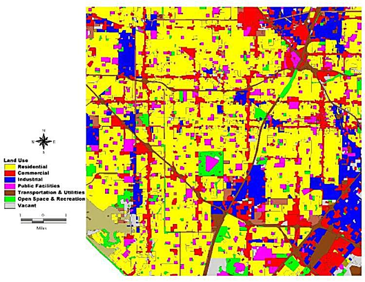 Fig. 4 Orange County Land Use Map
