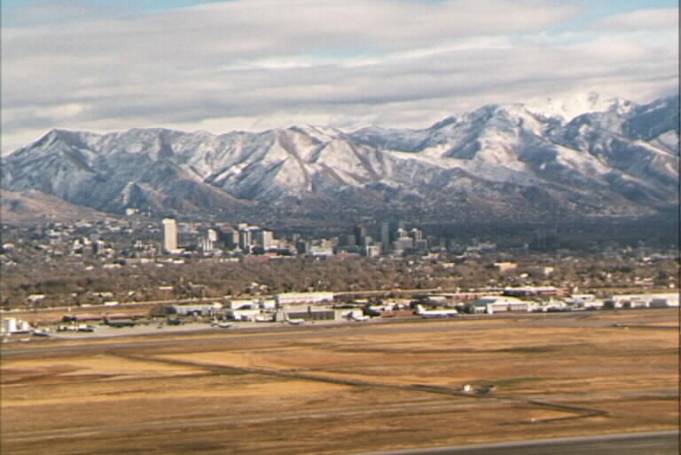 Salt Lake City, Utah Aerial View