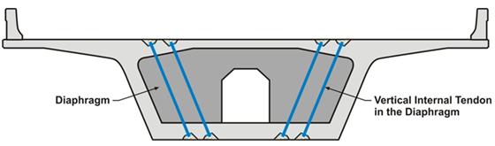 Vertical Cross Diaphragm