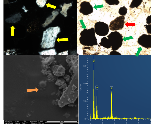 Slag Cement Microscope : Chapter dimensional stability of grout type materials