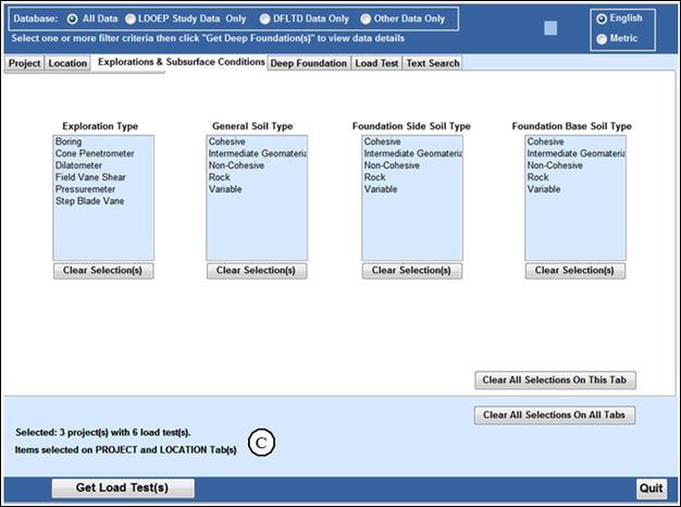 Index - FHWA Deep Foundation Load Test Database Version 2 0 User