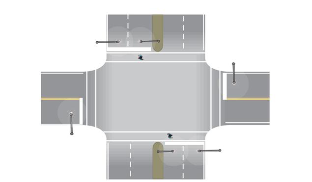 Informational report on lighting design for midblock crosswalks