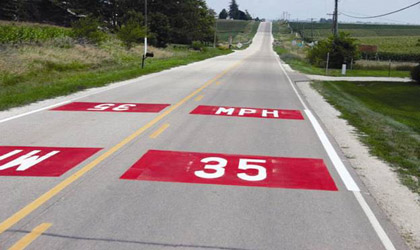 Traffic Calming On Main Roads Through Rural Communities