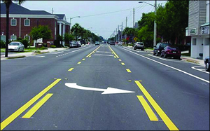 Image result for 3 lane road
