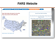 Screen shot of Fars website
