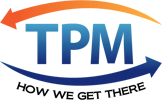 TPM Logo - How we get there